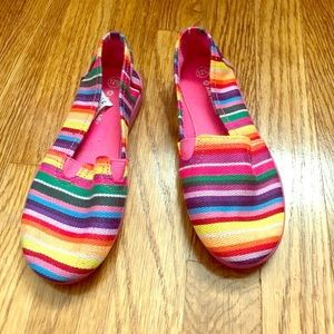 Like New Girls Colorful Casual Slip-on (worn once)
